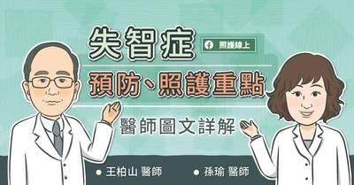 照護線上》失智症預防、照護重點,醫師圖文詳解