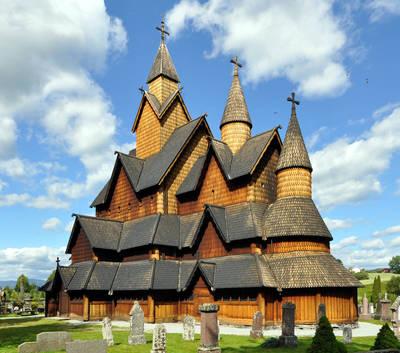 即食歷史》流傳北歐神話與基督教故事-海達爾木板教堂