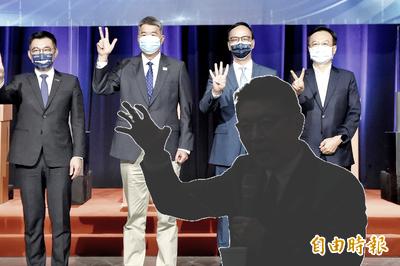 胡,怎麼說》「冷」看國民黨魁選舉,4(朱江張卓)+1(趙)=1個韓