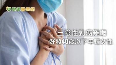 健康醫療網》三陰性乳癌好發年輕女性、存活率低 建議基因檢測