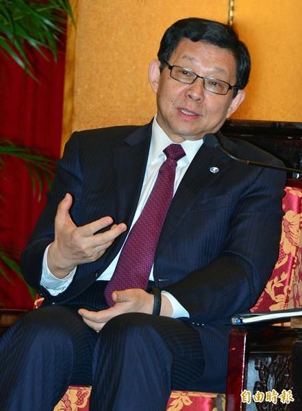 中國海協會長陳德銘。(資料照,記者王藝菘攝)