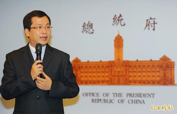 前總統府副秘書長羅智強。(資料照)