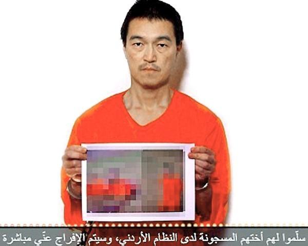 日本人質後藤健二。(圖取自網路)