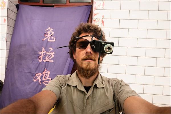 一度是「老外網紅」的德國人雷克,在中國因故遭禁造訪台灣後表示:「我看到了一個中國沒有實現的自己。」(取自雷克個人臉書)