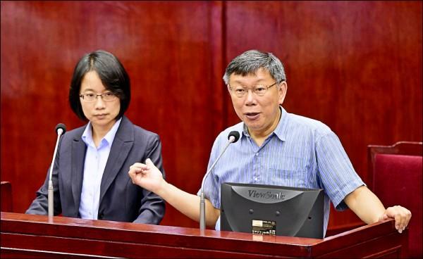 北農總經理吳音寧被台北市政府以及市議會裡頭一堆爛咖構陷之事,漸次被整理、釐清。(資料照)