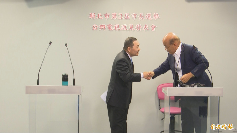 新北市長辯論 蘇貞昌完勝侯友宜!