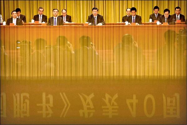 依據現代網路用語,習近平的談話堪稱是一紙政治宣傳的廢文,通篇好話說盡,目的卻只有一個,企圖招降台灣,以拼湊出古代秦漢帝國的再現,實現所謂中華民族的偉大復興。(法新社)