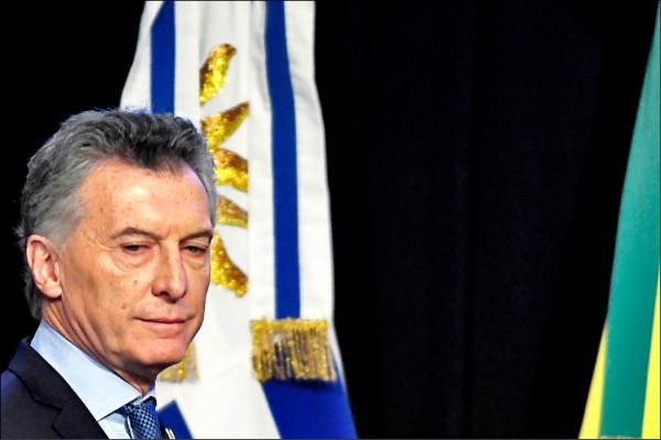 阿根廷總統馬克力(法新社檔案照)