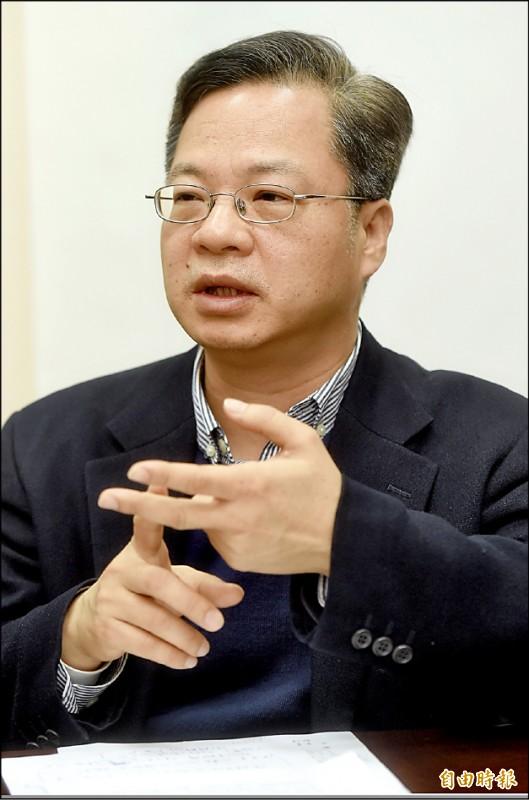 財經政務委員龔明鑫。(記者簡榮豐攝)