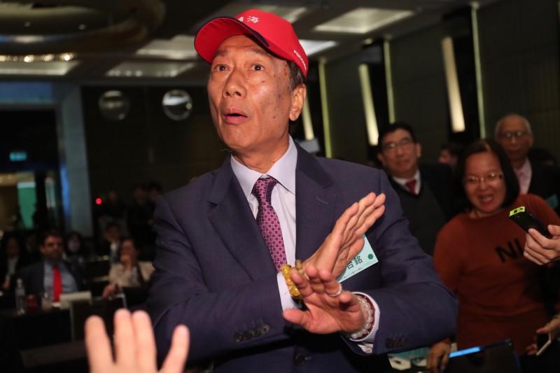 大鬧印太研討會、對中國表忠的郭董