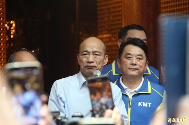 不顧市民暴雨安危 滿腦只有選舉的高雄韓市長