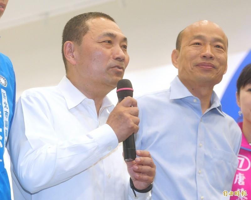 批評韓國瑜即開除黨籍,那國民黨怎麼還不開除侯友宜?