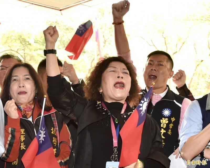胸懷中華帝國而非台灣警察的葉毓蘭