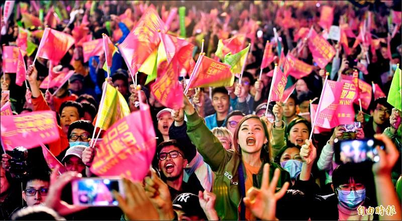 大選結果 是台灣選民的意志展現