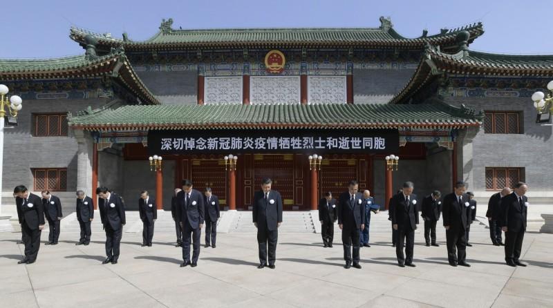 中國把抗疫當作秀 國民黨把防疫當生意