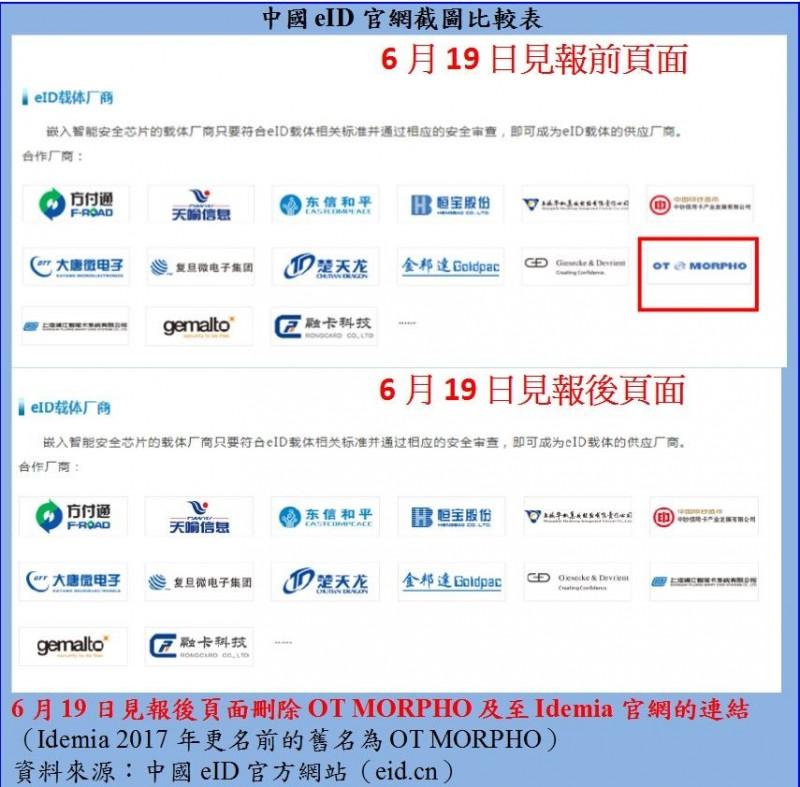 從中國eID官網急刪合作廠商 談New eID的國安危機