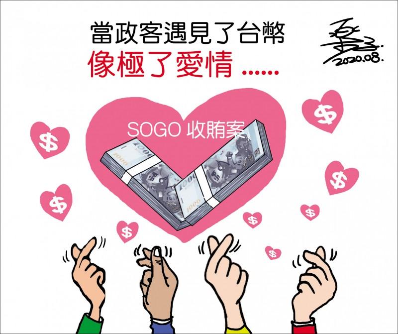 當政客遇見了台幣 像極了愛情...