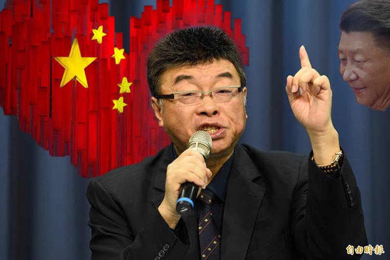 兩岸一家親的在台「中國人」!