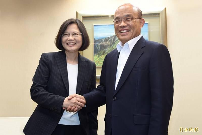 蘇貞昌仍是台灣人現在的「最佳選擇」